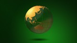Green Glossy Earth