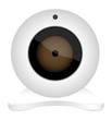 white webcam icon