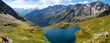 Gavia Pass, black lake