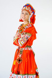 girl in national costume