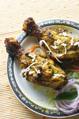 Kalmi Kebab – Marinated Chicken Drumsticks