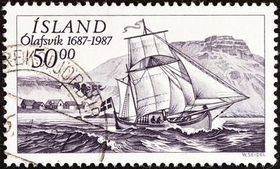 Svanur ketch (Iceland 1987)
