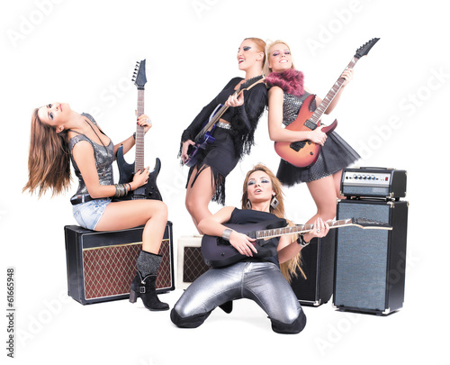 Sexy girls band