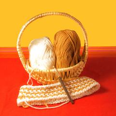 Hobby Häkeln mit Wolle