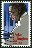 "USA - 1986: shows Edward Kennedy ""Duke"" Ellington (1899-1974)"