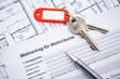 Leinwandbild Motiv Mietvertrag für Wohnräume