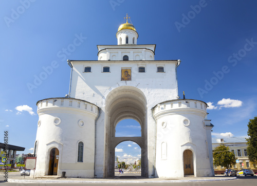 The Golden gate in Vladimir. Russia