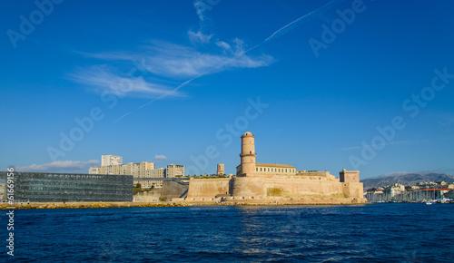 le fort saint jean à Marseille