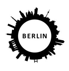 Skyline Berlin rund
