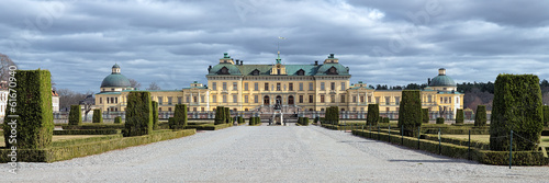 Panorama of Drottningholm Palace, Sweden
