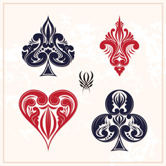 Ornamental Playing Card