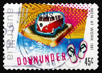 Postage stamp Australia 2001 Down Under, by Men at Work