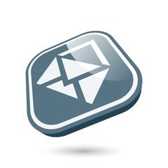e-mail symbol zeichen icon modern