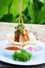 Satay Pork in Peanut Sauce