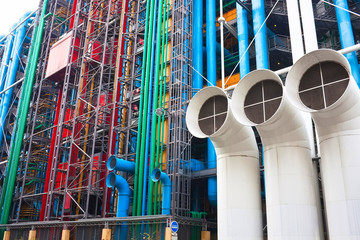Pompidou centre in France
