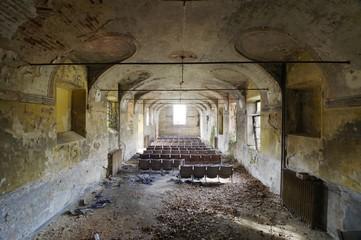 Abandoned auditorium - Piedmont, Italy