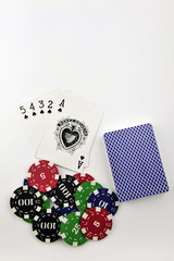 Casino Token and poker