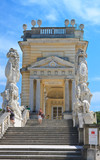 Detail of the Gloriette. Schonbrunn. Vienna, Austria