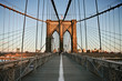 On the Brooklyn bridge - 61676957