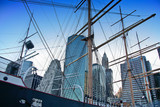 South Street Seaport masts