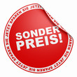 3D Aufkleber Rot - Sonderpreis!
