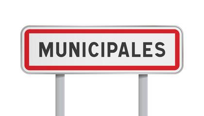 Panneau - Municipales