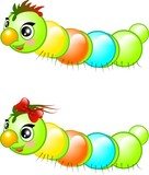 Happy caterpillars