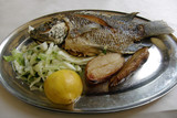 St. Peters fish, a typical meal for christian pilgrims