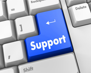 blue support