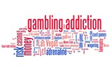 Gambling words - conceptual word cloud