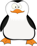 Nice cartoon penguin