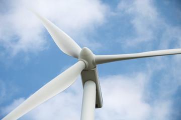 Modern Wind Turbine close-up