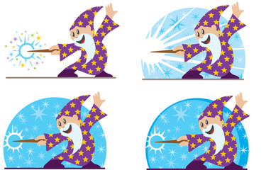 Cute little wizard