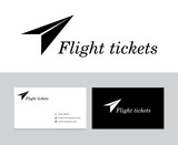 Flight tickets logo