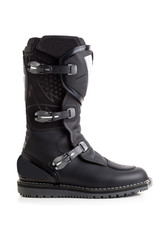 Biker MX boot isolated