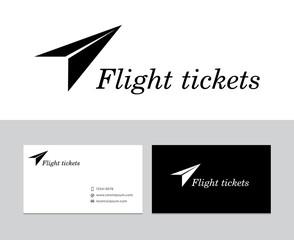 Flight tickets logo