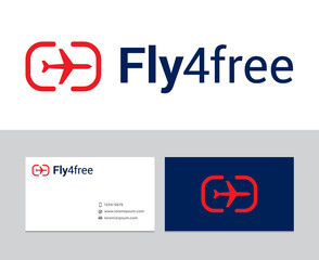 Fly for free logo