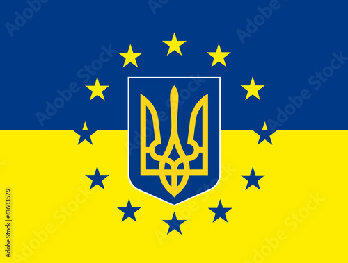 europe ukraine fantasy flag