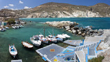 Mantrakia, Milos island, Cyclades, Greece