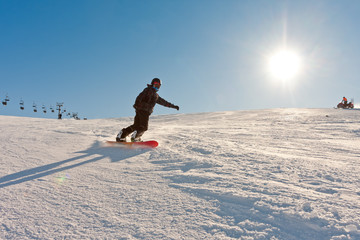 Wintersports in sunshine