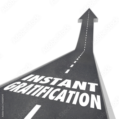 Road Arrow Instant Gratification Joy Ride Travel Direction