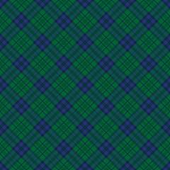 青×緑 タータンチェック 壁紙