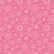 vector folk pink floral circles texture abstract seamless