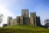Guimaraes castle and surrounding park, Portugal