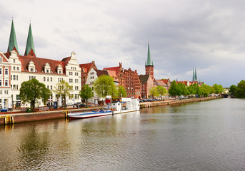 Lubeck in northern Germany