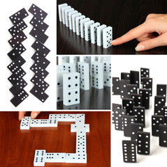 Domino collage