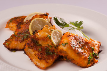 Spicy Fish Tikka.