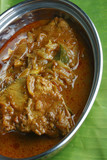 Kerala fish curry - fish in a tangy coconut curry