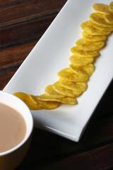 Banana Chips – Wafers made from raw Banana