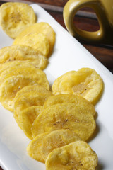 Banana Chips – Wafers made from raw Banana